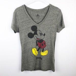 Disney   Disneyland Parks Distressed Mickey Tee